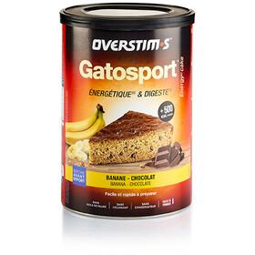 OVERSTIM.s Gatosport Kuchenbackmischung 400g Banane Schokolade
